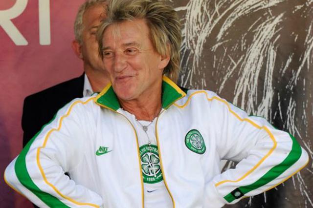 Y que se pone a llorar Rod Stewart con la victoria del Celtic