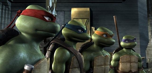 Las Tortugas Ninja tendrán orígen extraterrestre en su siguiente película