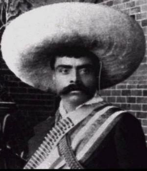 Emiliano Zapata también sonreía
