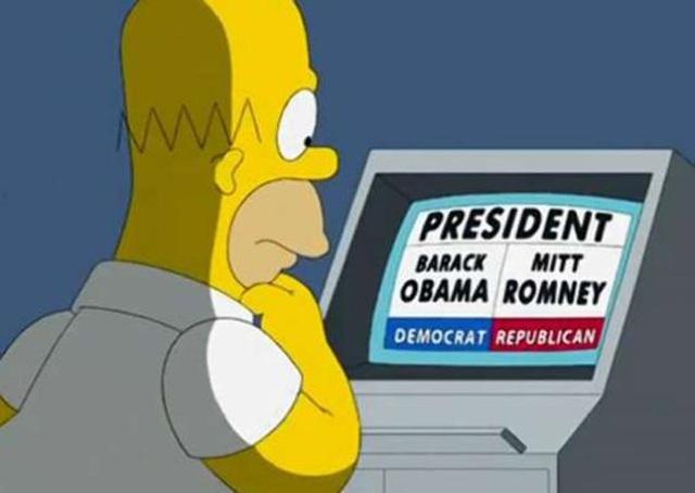 Los momentos que definieron el 2012 relacionados con los Simpsons