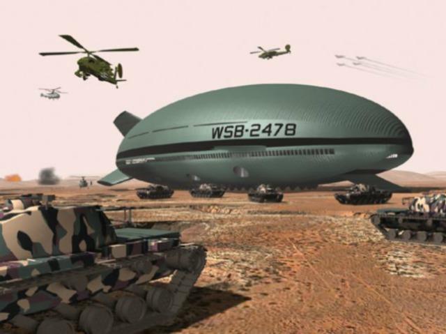 Nueva aeronave aerostática promete ¿reemplazar a los trenes de carga?