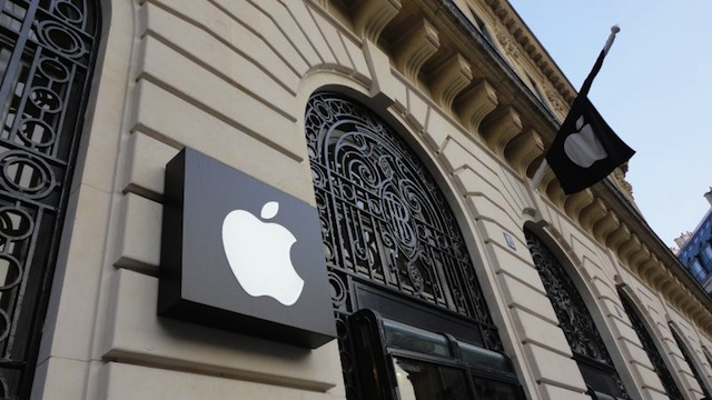 Roban un millón de euros de una tienda Apple en París