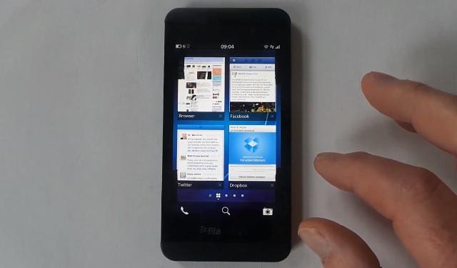 Todos los detalles del nuevo BlackBerry Z10 en un video