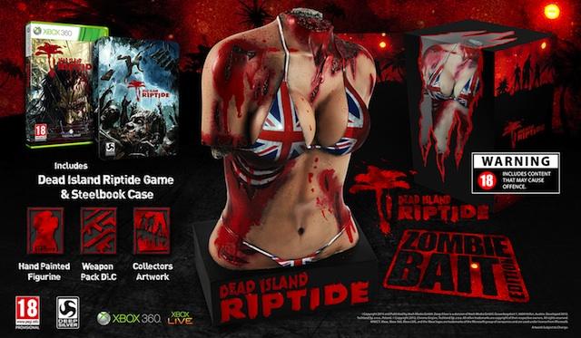"""Esta es la polémica versión especial de """"Dead Island: Riptide"""""""