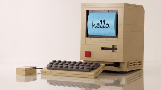 Nerdgasmo: Una Mac hecha con bloques de LEGO