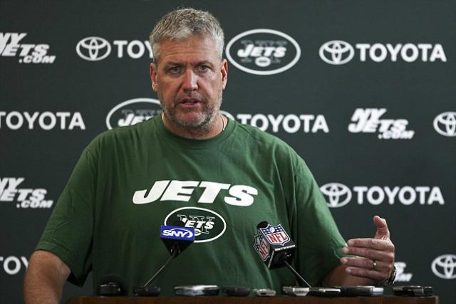Y en la imagen del fin de semana... el tatuaje del coach de los NY Jets