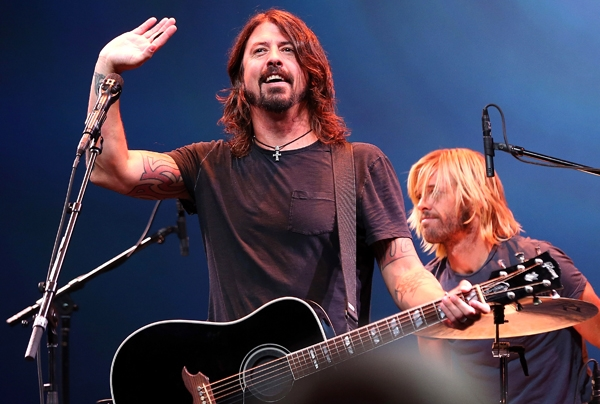 Video: Mira el primer concierto de los Sound City Players de Dave Grohl