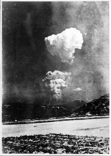 Descubren una fotografía olvidada del hongo atómico de Hiroshima