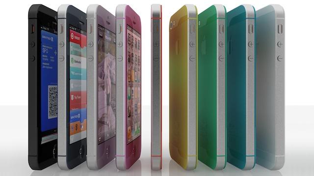 iPhone 5S podría llegar en distintos colores y tamaños