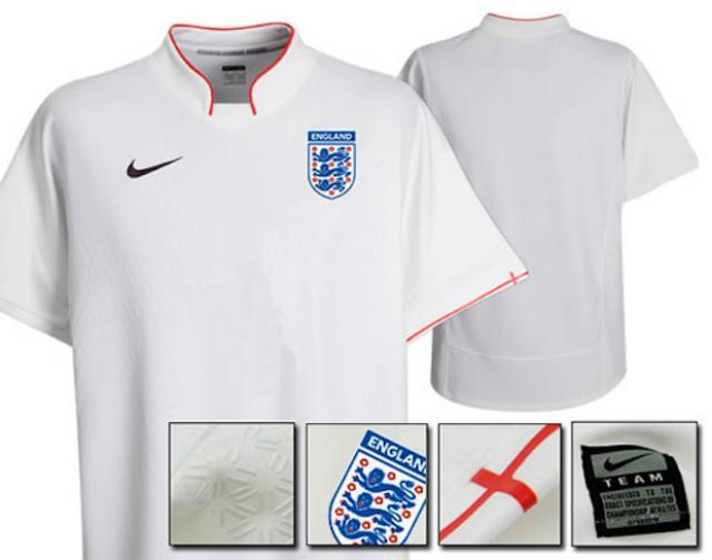 ¿Así será el nuevo uniforme de la selección de Inglaterra?