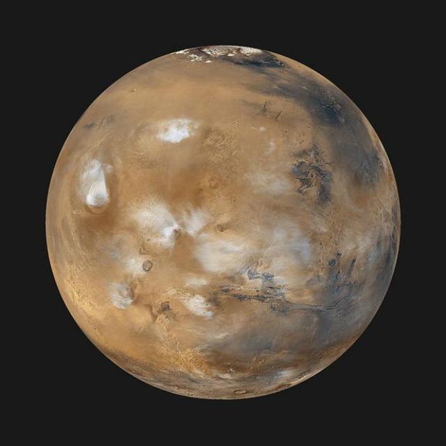 Así se vería Marte si tuviera océanos y vegetación