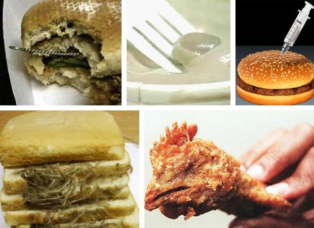 Con ustedes...el Top 10 de los descubrimientos más repugnantes en la comida