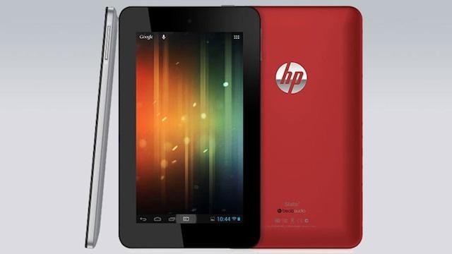 Slate 7, la nueva tableta con Android de HP