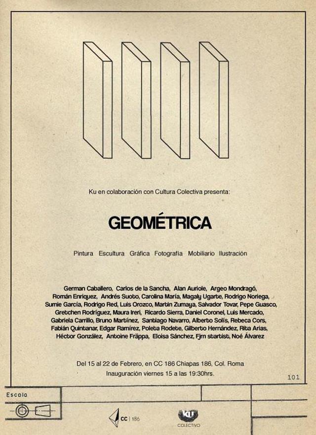 GEOMÉTRICA en CC 186