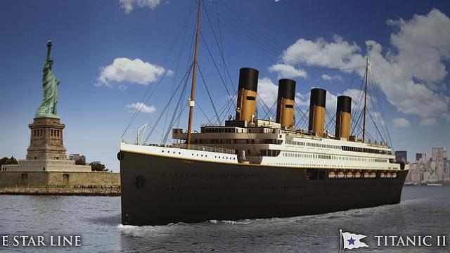Así será el nuevo Titanic