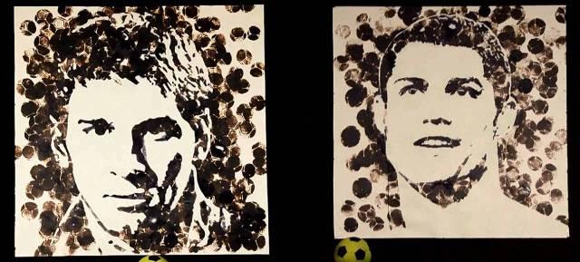Video: Obras de arte ¿hechas a balonazos?