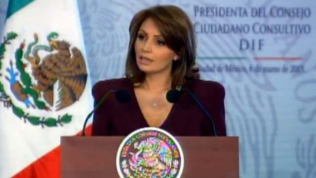 Angelica Rivera rindió protesta como presidenta del Consejo Ciudadano del DIF