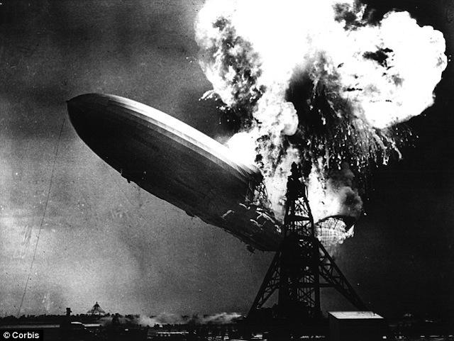 Se resuelve el misterio de la explosión del Hindenburg 76 años después