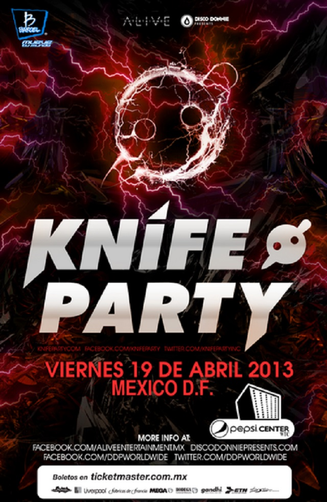 Knife Party en México