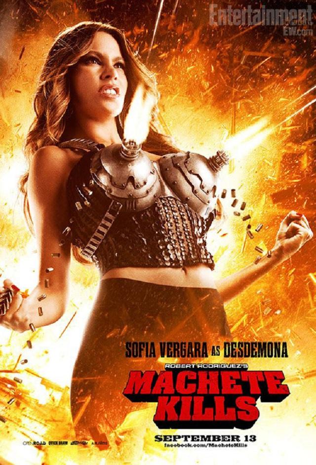 Sofia Vergara nos presume sus armas en el nuevo póster de
