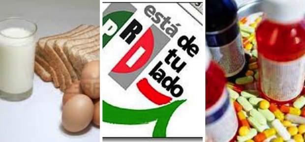 PRI abre camino para aplicar IVA a medicinas y alimentos
