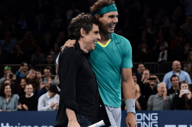 Rafa Nadal y Ben Stiller ¿pareja en el Madison Square Garden?