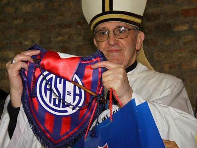 Papa Francisco I, el hincha más fiel de San Lorenzo