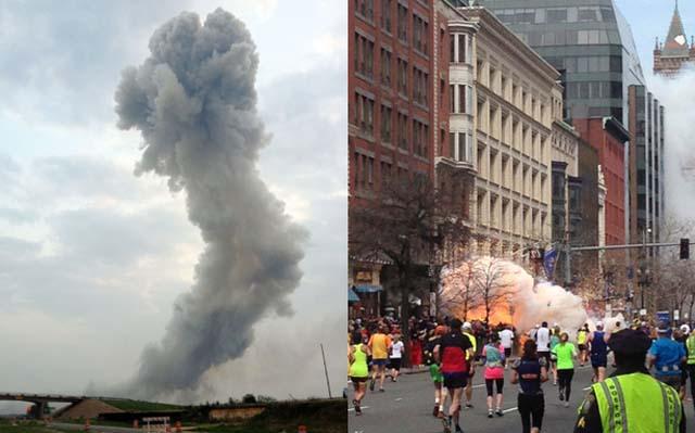Un hombre sobrevivió a la explosión del Maratón de Boston y a la de Waco, Texas