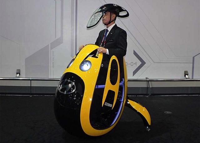 "Hyundai muestra su nuevo ""huevo-móvil"""