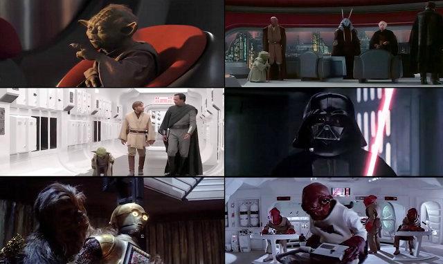 Nerdagsmo: Las 6 películas de Star Wars ¡en un mismo video!
