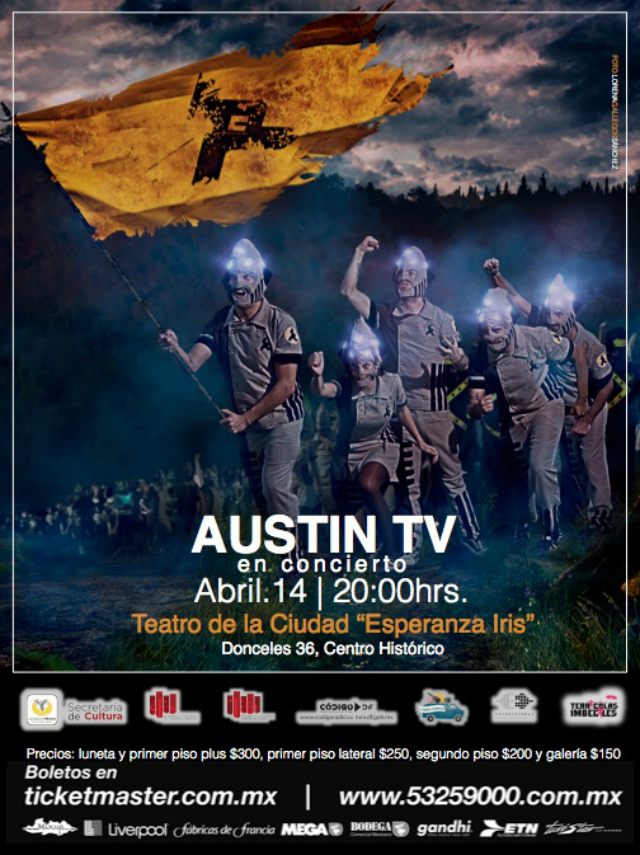 ¡Gana boletos para ver a Austin TV este domingo!