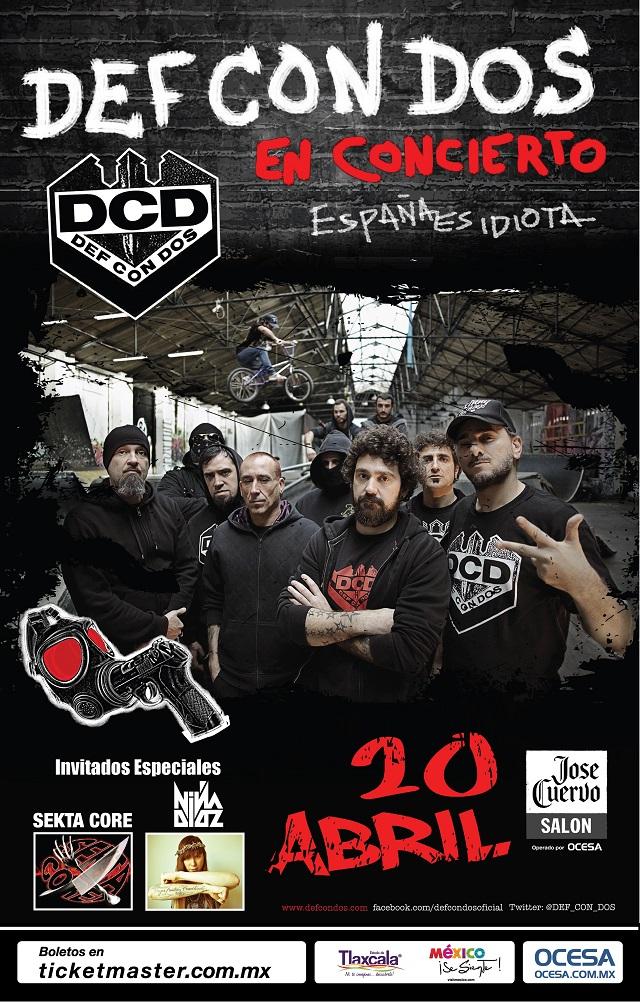 ¡Gana boletos para el concierto de Def Con Dos en el José Cuervo Salón!