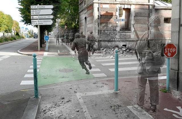 Así se vería hoy la Segunda Guerra Mundial