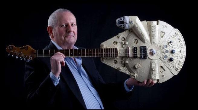 Nerdgasmo: Guitarras hechas con las naves de Star Wars