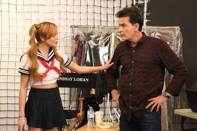 Lindsay Lohan se viste de Sailor Moon