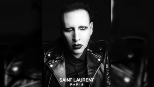 Nueva campaña de Saint Laurent con Marilyn Manson, Courtney Love y más