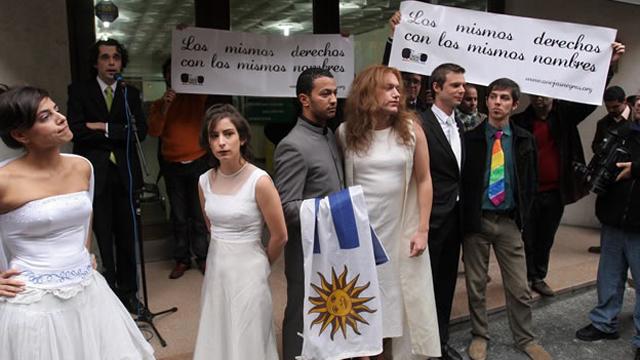 Ley de adopcion homosexual en uruguay