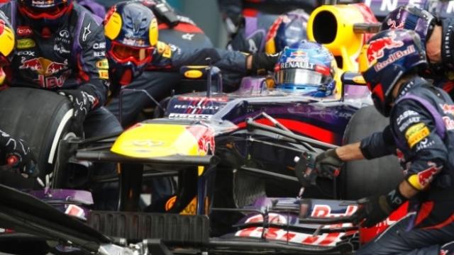El récord en los pits de Red Bull