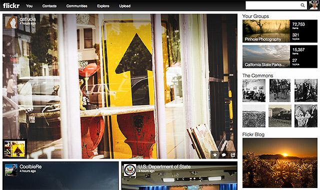 Así se ve el nuevo Flickr