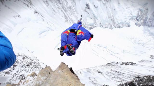Microinfarto extremo: Saltando desde el monte Everest