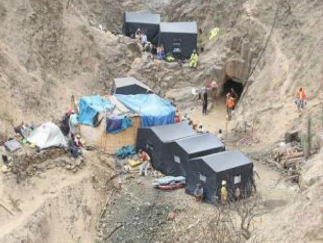 Mueren más de 60 personas en el colapso de una mina de oro, en Darfur