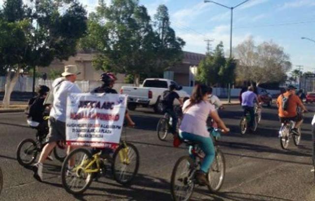 Organizan ciclotón para recordar a las víctimas de la tragedia de la guardería ABC