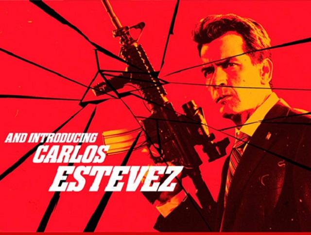 Charlie Sheen ahora es Carlos Estevez