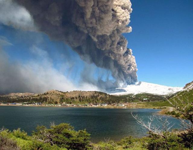 Inminente erupción del volcán Copahue