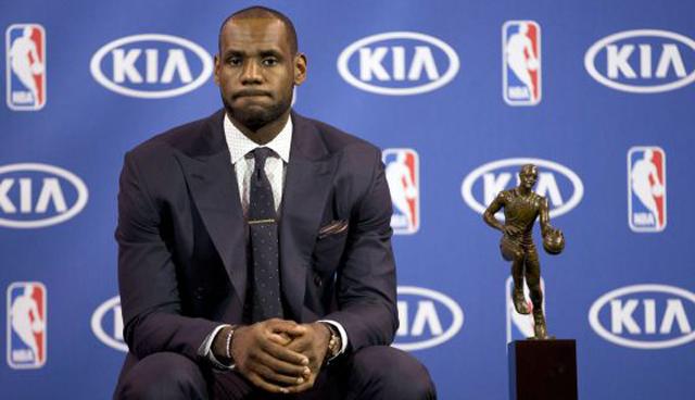 LeBron James, elegido por cuarta vez el MVP de la temporada