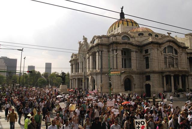 Se conmemoran 3 años de la Gran Marcha Nacional del Movimiento por la Paz con Justicia y Dignidad