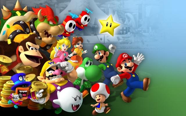 Los personajes de Mario Bros. se vuelven hipsters