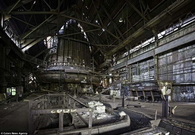 Galería: Los fantasmas industriales de una América abandonada
