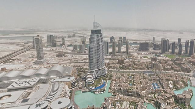 Google lleva Street View al edificio más alto del mundo
