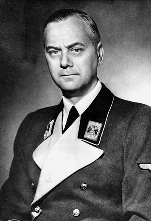Hallan diario de Alfred Rosenberg, ideólogo nazi